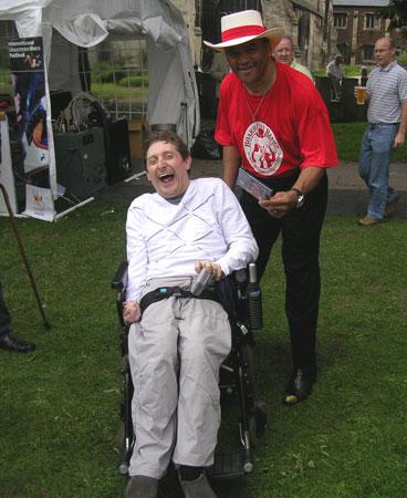 Mark Chard and Sherman
